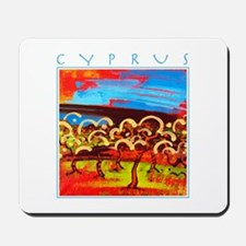 Cyprus, Olive Grove Mousepad
