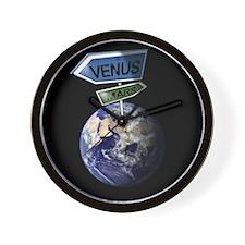 Venus and Mars Wall Clock