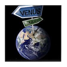 Venus and Mars Tile Coaster