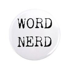 "Word Nerd 3.5"" Button (100 pack)"