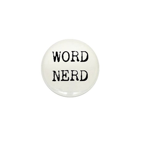 Word Nerd Mini Button (100 pack)