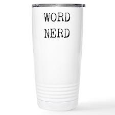 Word Nerd Travel Mug