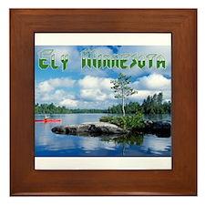 Ely Wilderness Scene Framed Tile