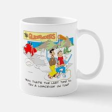 ... A LOMCEVAK ON TOW. Mug