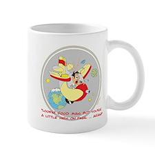 ... A LITTLE HIGH ON FINAL .. Mug