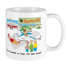 TOW PLANES IN FOR IT'S 100 HO Mug