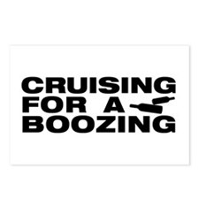 Unique Booze cruise Postcards (Package of 8)