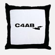 Cool Booze cruise Throw Pillow