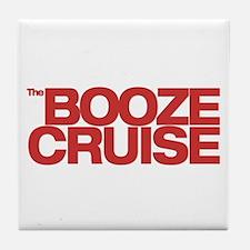 Unique Booze cruise Tile Coaster