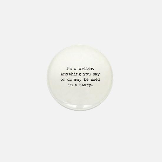 Writer's Miranda Mini Button