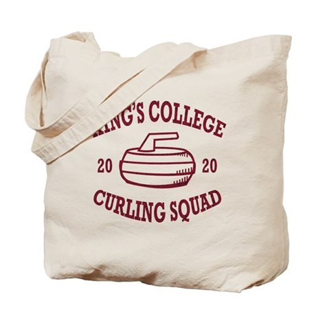 Curling Team Tote Bag