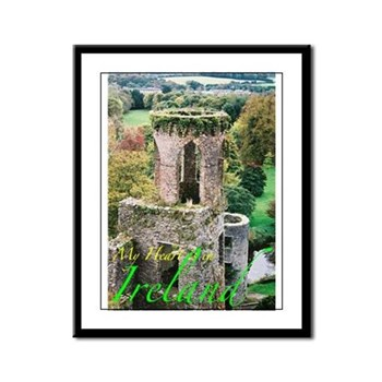 Ireland Picture Framed Panel Print