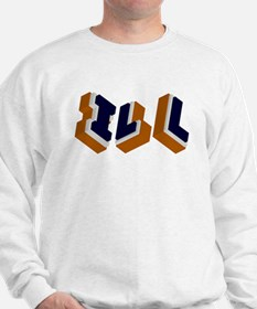 Orange, Blue, and White Box I Sweatshirt