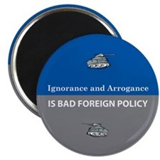 Ignorance and Arrogance Magnet