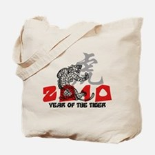 2010 Year of The Tiger Tote Bag