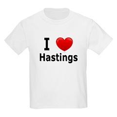 I Love Hastings T-Shirt