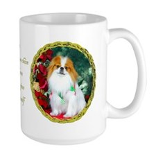 Japanese Chin Christmas Holiday Mug