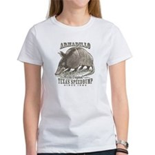 Armadillo Texas Speedbump Tee