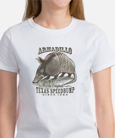 Armadillo Texas Speedbump Women's T-Shirt