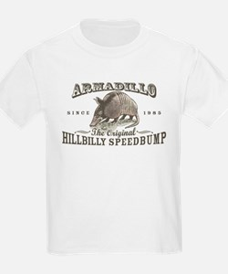 Armadillo Hillbilly Speedbump T-Shirt