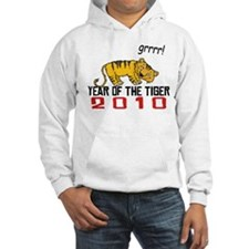 Funny Year of The Tiger 2010 Hoodie Sweatshirt