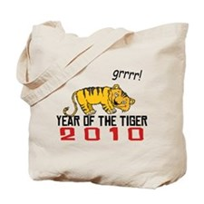 Funny Year of The Tiger 2010 Tote Bag