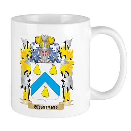 Orchard Family Crest - Coat of Arms Mugs