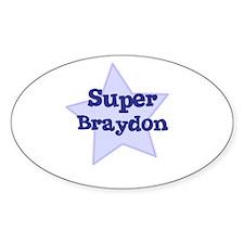 Super Braydon Oval Decal