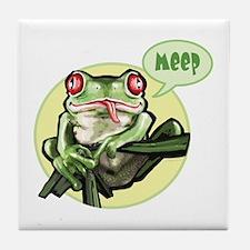 Meep Frog Meep Tile Coaster