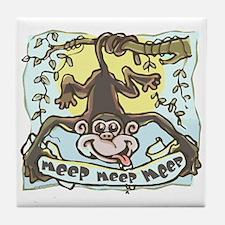 Meep Monkey Meep Tile Coaster