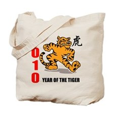 2010 New Year of The Tiger Tote Bag
