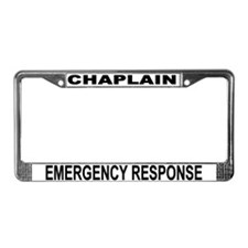 Emergency Response License Plate Frame