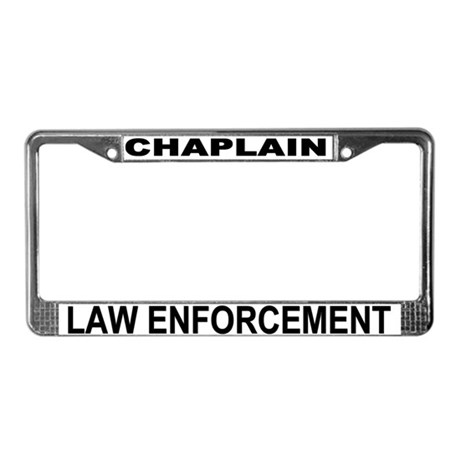Chaplain License Plate
