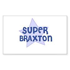 Super Braxton Rectangle Decal
