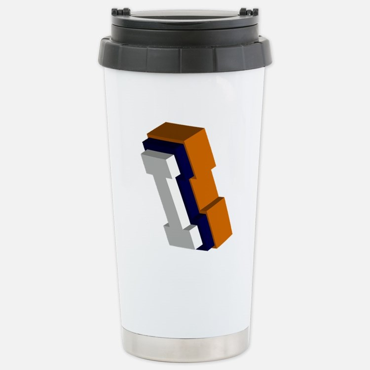 Cute Fighting illini Travel Mug