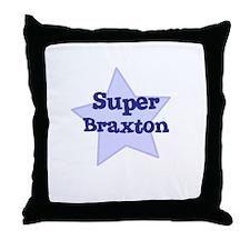 Super Braxton Throw Pillow