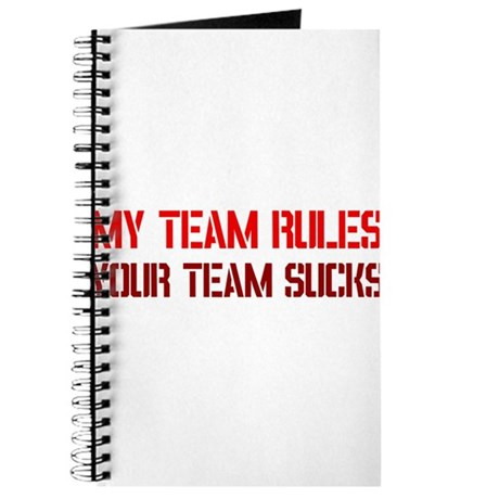 My team rules! Journal