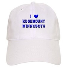 I Love Rosemount Winter Baseball Cap