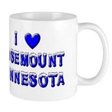 I Love Rosemount Winter Mug
