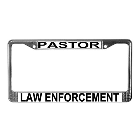 Law Enforcement License Plate Frame