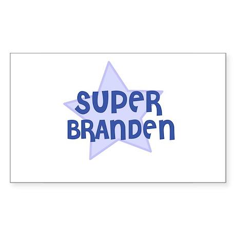 Super Branden Rectangle Sticker