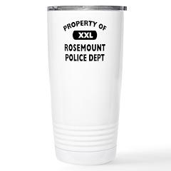 Property of Rosemount Police Dept Travel Mug