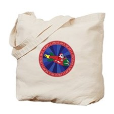 SANTA'S ROCKET #2 Tote Bag