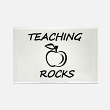 Funny World%27s hottest middle school teacher Rectangle Magnet