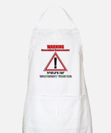 Rainbow Unsocialized Homescho Apron