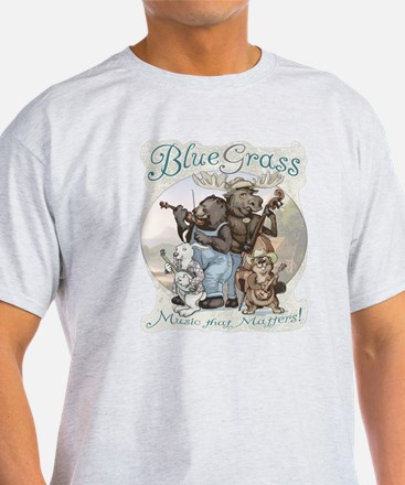 Bluegrass Critter Music T-Shirt