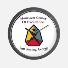 Maneuver Center of Excellence Wall Clock