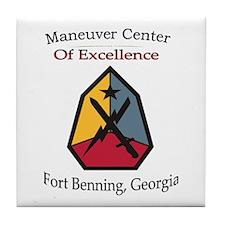 Maneuver Center of Excellence Tile Coaster