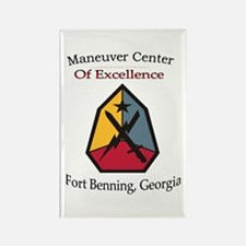 Maneuver Center of Excellence Rectangle Magnet