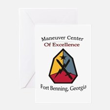Maneuver Center of Excellence Greeting Card